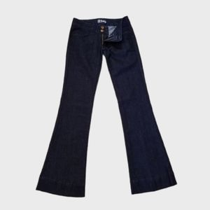 Anlo, Like New, Nice Flare Legged Dark Blue Jeans